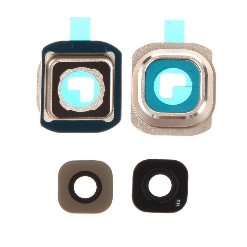Lentille caméra arrière Galaxy S6 (G920F) Or