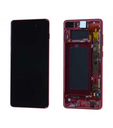 Ecran complet Samsung Galaxy S10+ (G975F) Rouge