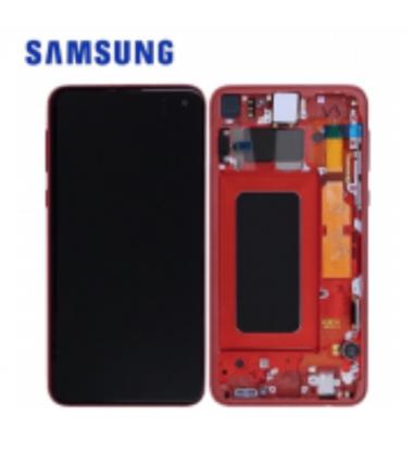 Ecran Complet Samsung Galaxy S10e (G970F) Rouge