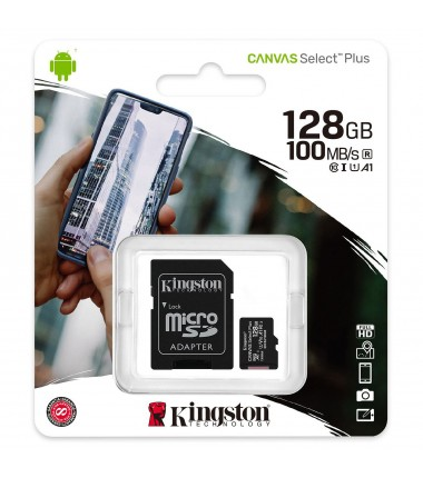KINGSTON Canvas Select Plus microSD 128GO