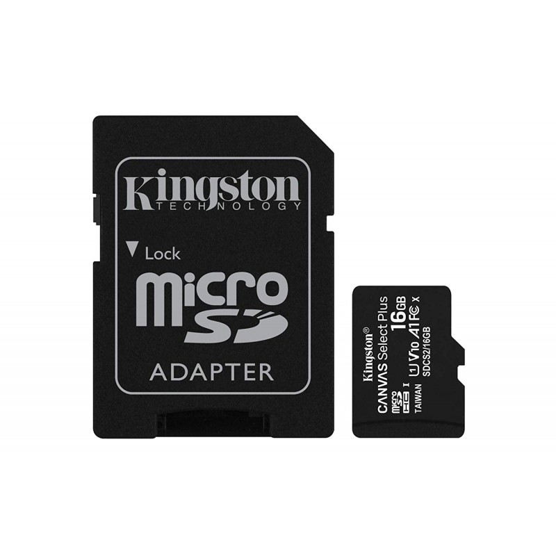 KINGSTON Canvas Select Plus microSD 16GO