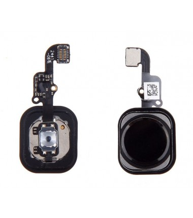 Bouton Home complet pour iPhone 6 / 6 plus Noir