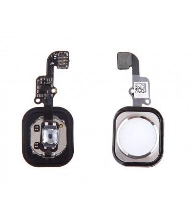 Bouton Home complet pour iPhone 6 / 6 plus Argent