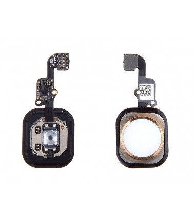 Bouton Home complet pour iPhone 6 / 6 plus Or