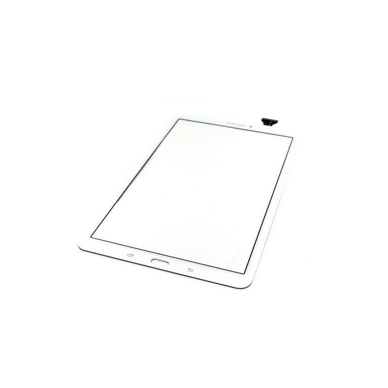 Vitre tactile pour Samsung Galaxy Tab E 9.6 Blanc (T560/561)