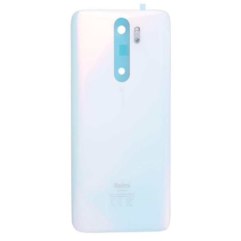 Vitre arrière pour Xiaomi Redmi Note 8 Pro Blanc