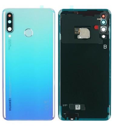 Vitre arrière Huawei P30 Lite Bleu Nacré