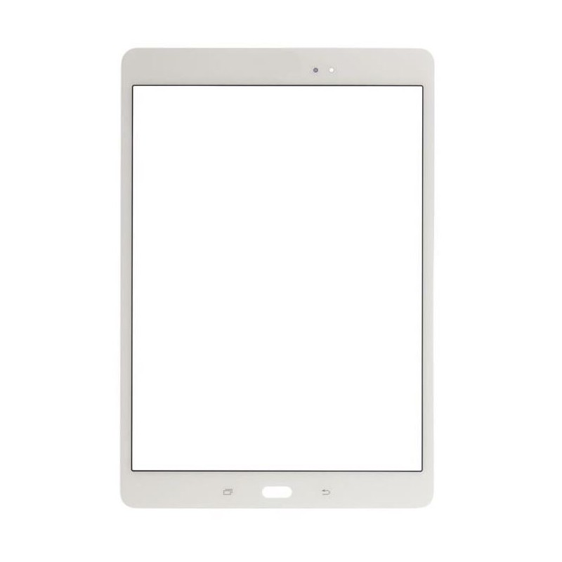 Vitre tactile pour Samsung Galaxy Tab A 9.7 Blanc (T550/T555)