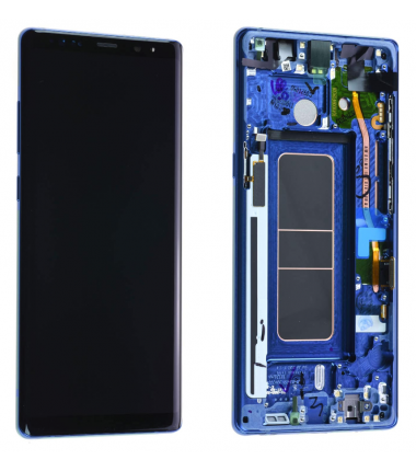 Ecran Complet Samsung Galaxy Note 8 RECONDITIONNE (N950F) Bleu