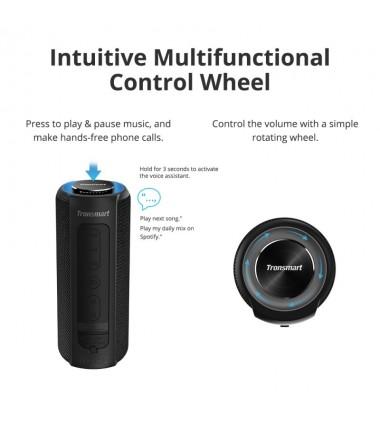 TRONSMART Enceinte Bluetooth 40W (T6 Plus) Noir