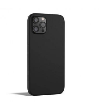 Coque en Silicone rigide iPhone 12/12 Pro Noir