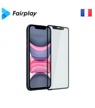 Verre trempé Fairplay Full 3D pour iPhone 7/8 Blanc