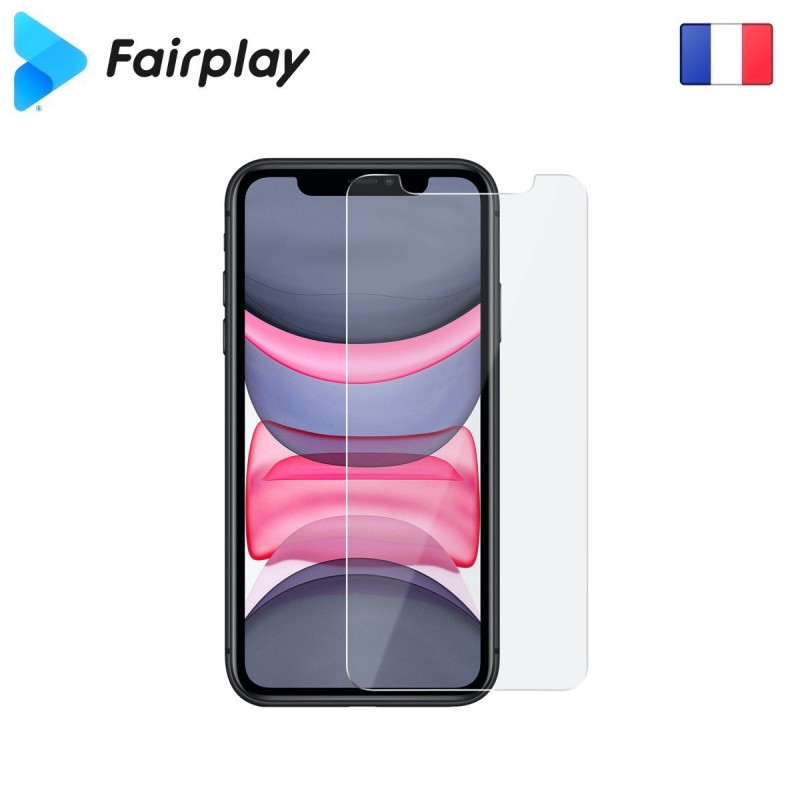 Verre trempé Fairplay IMPACT pour iPhone XR/11