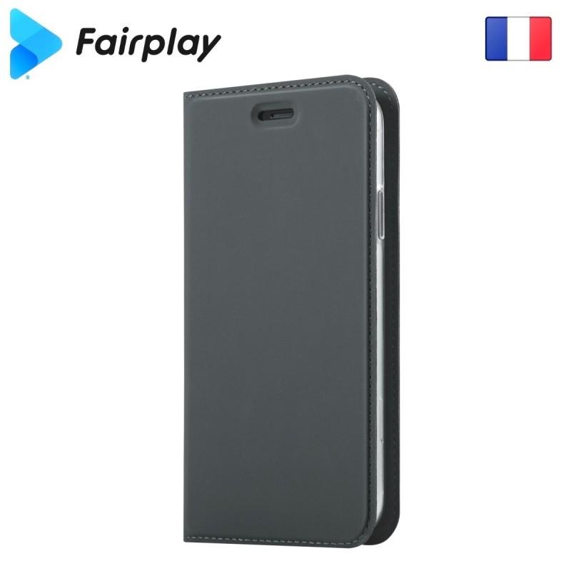Coque Fairplay Epsilon Galaxy A50 Gris Ardoise