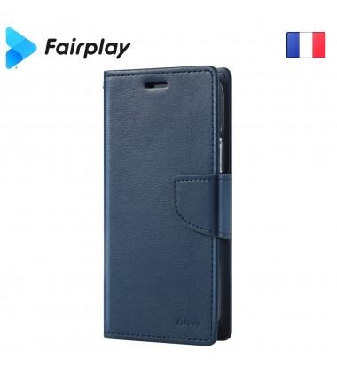 Coque Fairplay LEONIS iPhone SE 2020 Bleu