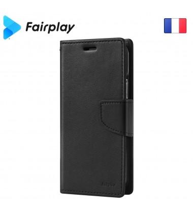 Coque Fairplay LEONIS iPhone SE 2020 Noir