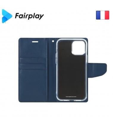 Coque Fairplay LEONIS iPhone X / Xs Bleu
