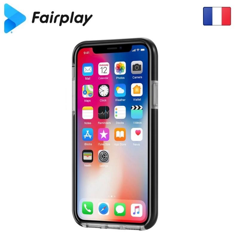 Coque Fairplay GEMINI Galaxy A40 Noir