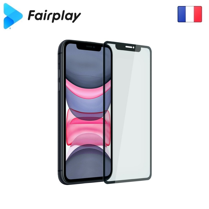Verre trempé Fairplay Full 3D pour iPhone XS Max /11 Pro Max