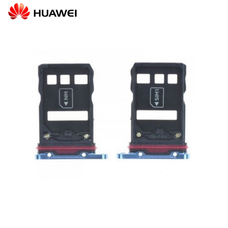 Tiroir Sim Huawei P30 Pro Bleu Aurora