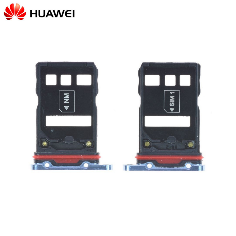 Tiroir Sim Huawei P30 Pro Bleu Nacré