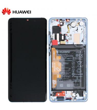 Ecran complet Huawei P30 Pro Argent Givré