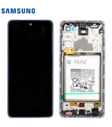 Ecran Complet Samsung Galaxy A72 (A725/A726B) Violet