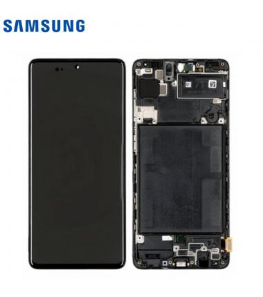 Ecran Complet OLED Samsung Galaxy A71 (A715F) Noir