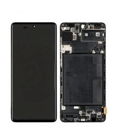 Ecran Complet pour Samsung Galaxy A71 (A715F) Noir