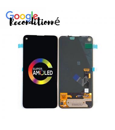 Ecran Google reconditionné Pixel 4A (5G) Noir