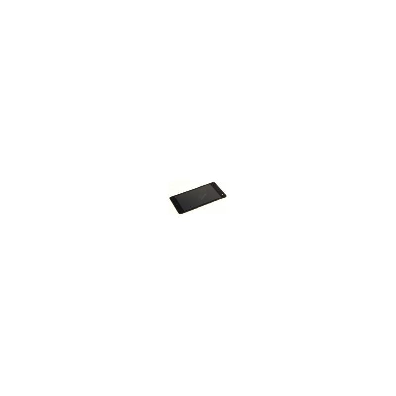 Ecran LCD et vitre tactile avec châssis Wiko Jerry 2 Noir
